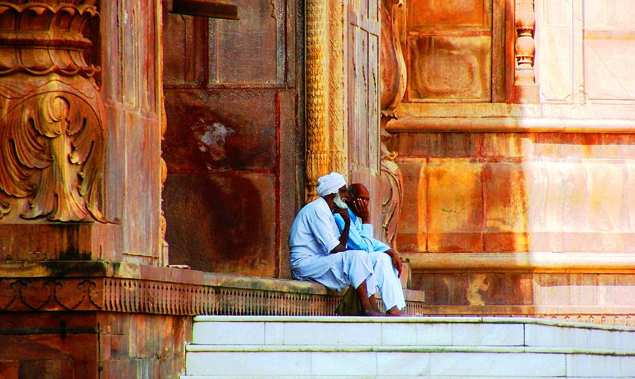 Mosque Photograph - A by Mohammed Nasir