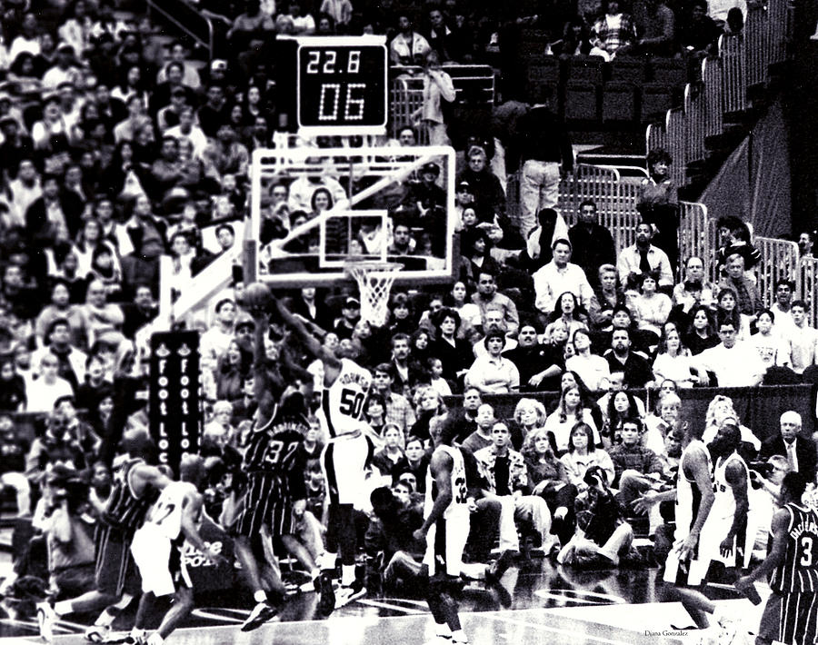 Basketball Photograph - A Moment In History 1999 by Diana Gonzalez