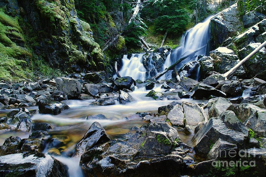 A New Way To The Waterfall Photograph