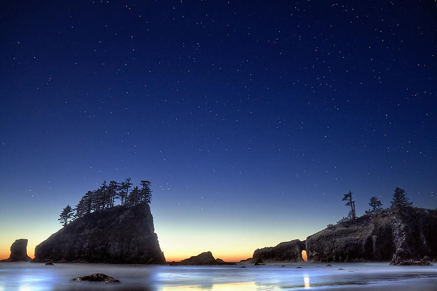 Landscape Photograph - A Night For Stargazing by William Lee