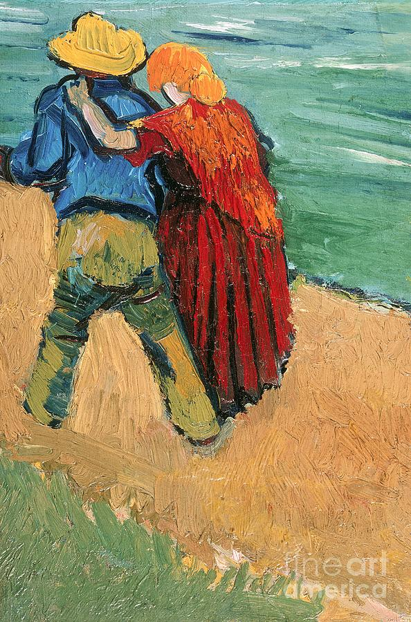 Pair Painting - A Pair Of Lovers by Vincent Van Gogh