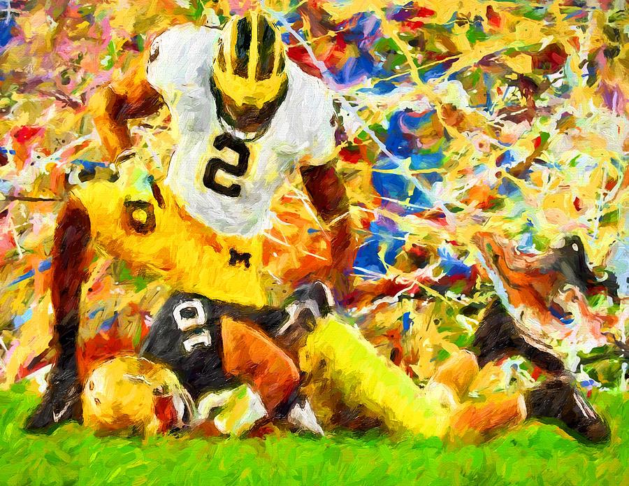 A Rabid Wolverine Strikes Painting By John Farr