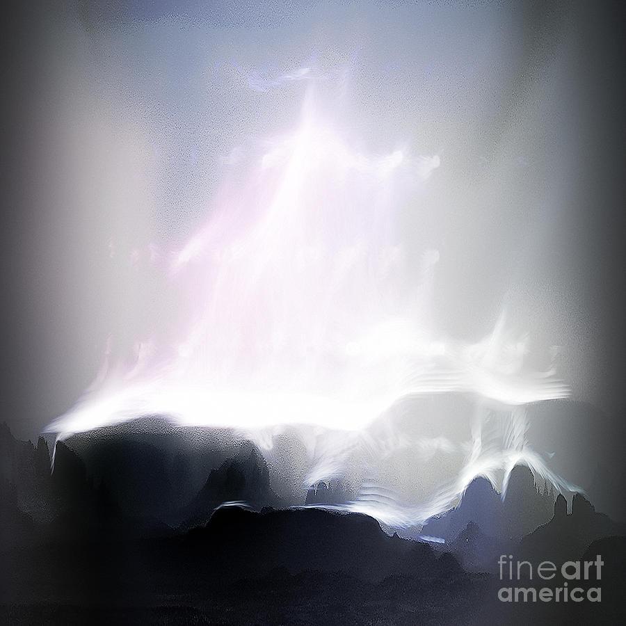 Arne J Hansen Photograph - A Stairway To Heaven by Arne Hansen