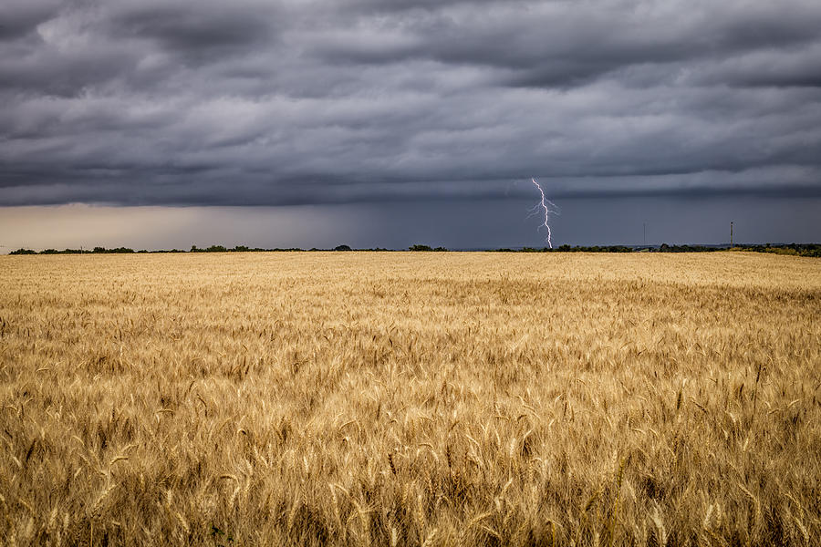 A Storm Passing By Photograph