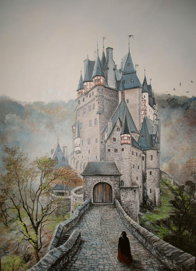 A Story At Eltz Castle Painting