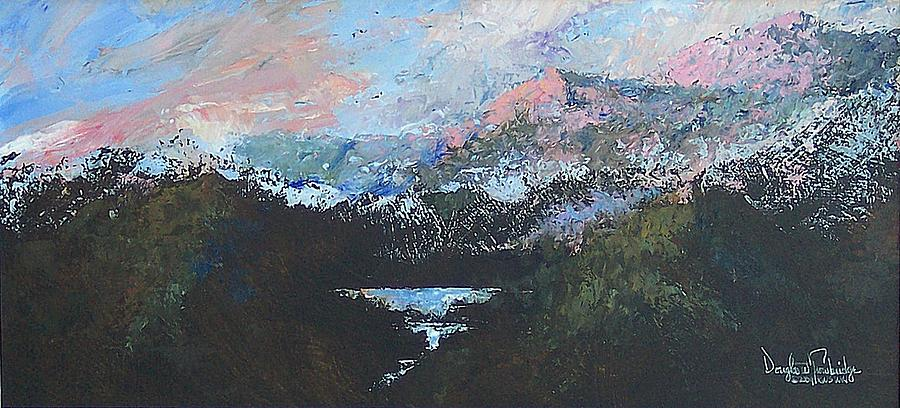 Wilderness Painting - A Wilderness View by Douglas Trowbridge