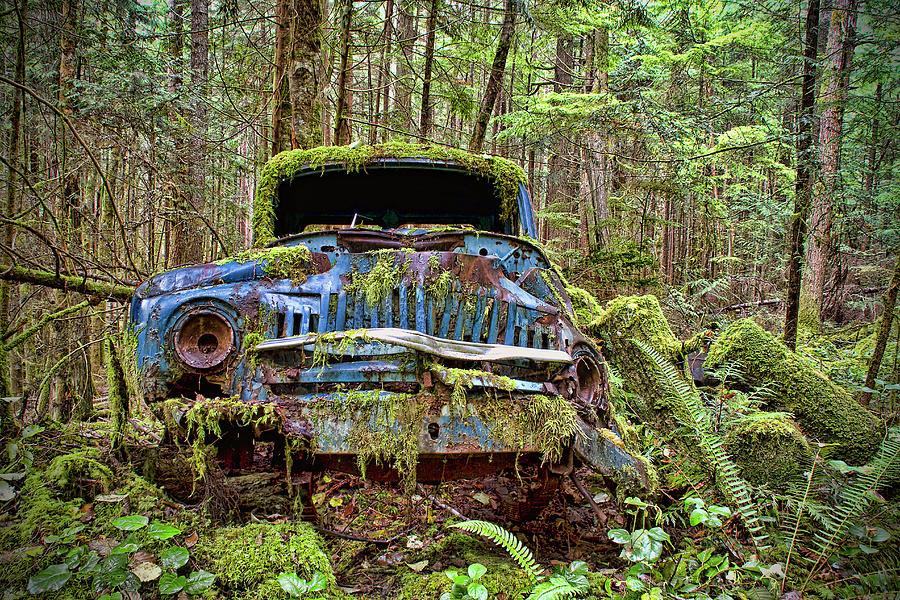 La City Abandoned Car
