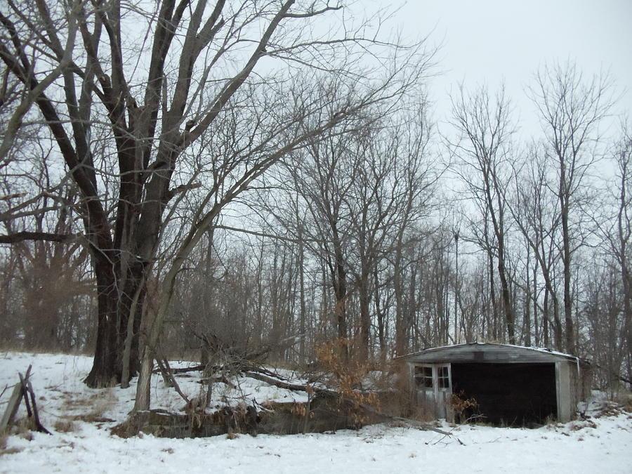Abandoned Farm Photograph