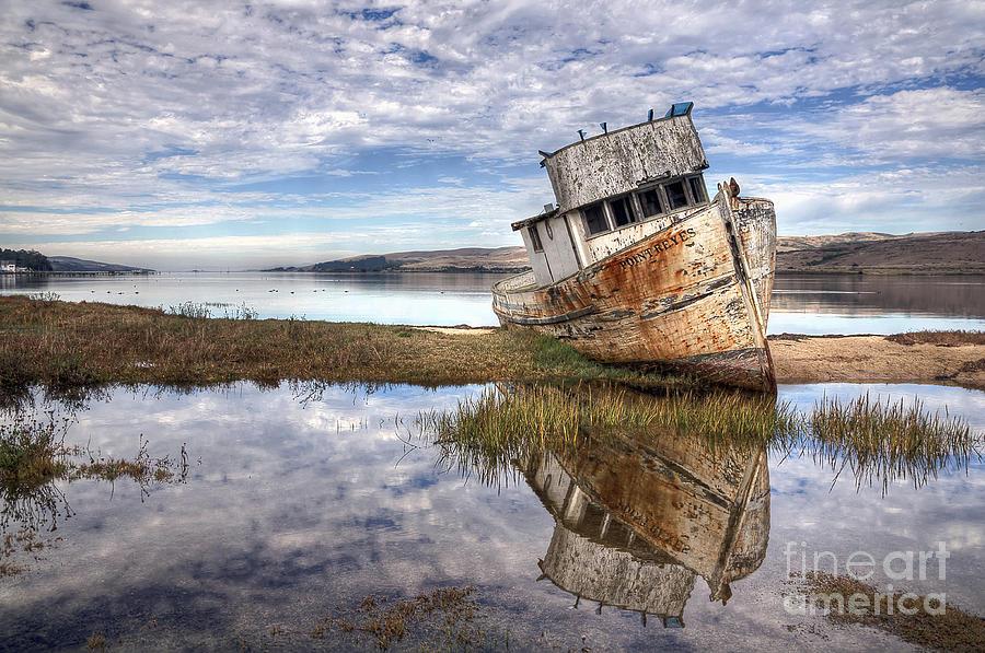 Abandoned Ship Photograph - Abandoned Ship by Eddie Yerkish