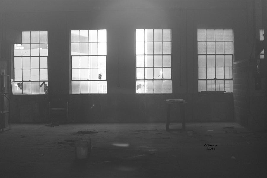 Abandoned Photograph - Abandoned Warehouse by Carol Turner
