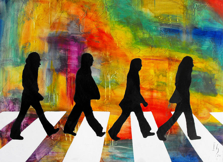 Abbey Road Painting By Ivan Guaderrama