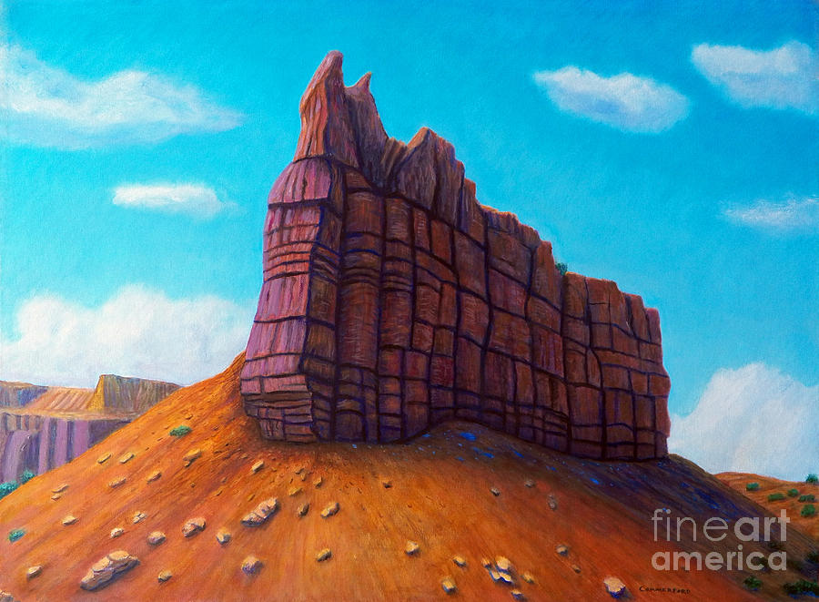 Mountain Painting - Abiquiu by Brian  Commerford