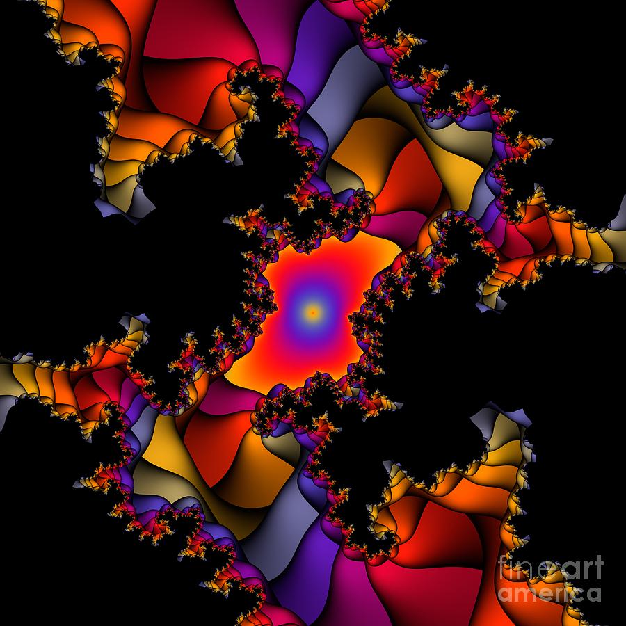Abstract Digital Art - Abstact 22 by Rolf Bertram