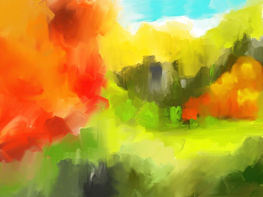Abstract Digital Art - Abstract 112210 by David Lane