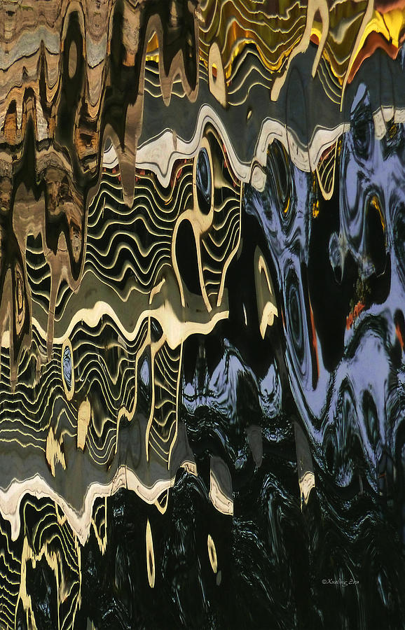 An Abstract Photograph - Abstract 13 by Xueling Zou