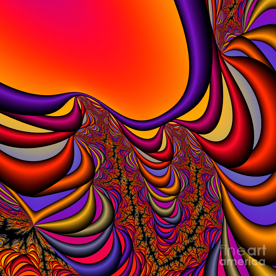 Abstract Digital Art - Abstract 2009041141 by Rolf Bertram
