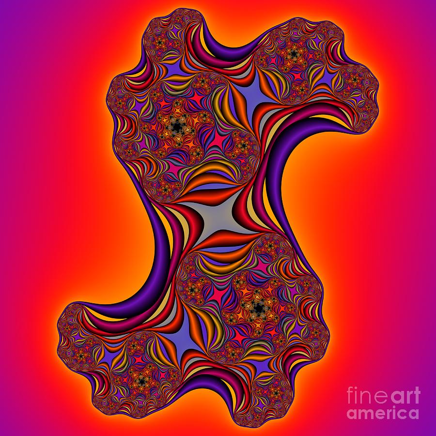 Abstract Digital Art - Abstract 44 by Rolf Bertram