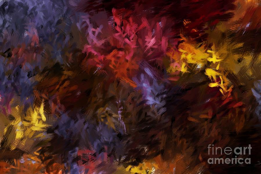 Abstract Digital Art - Abstract 5-23-09 by David Lane