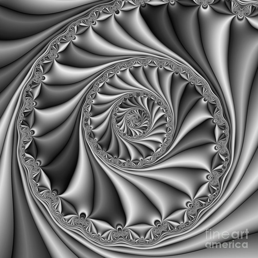 Abstract 508 Bw Digital Art