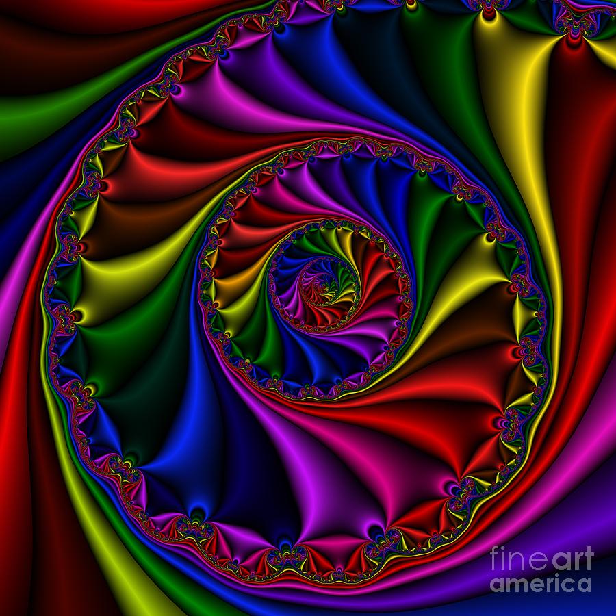 Abstract Digital Art - Abstract 508 by Rolf Bertram