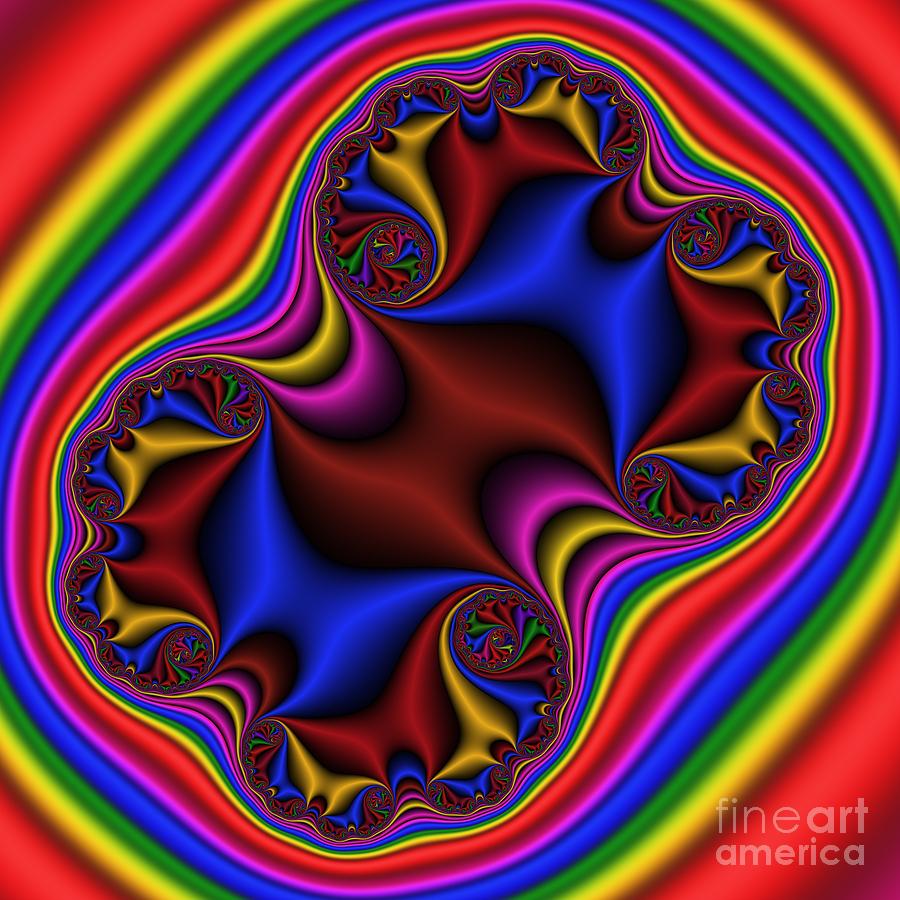 Abstract Digital Art - Abstract 515 by Rolf Bertram