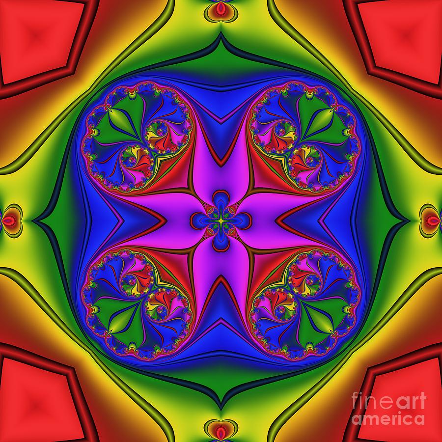 Abstract 602 Digital Art