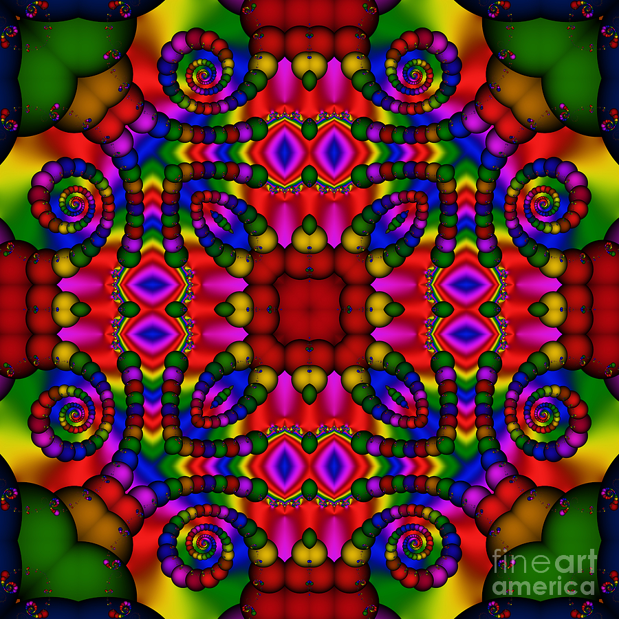 Abstract 652 Digital Art