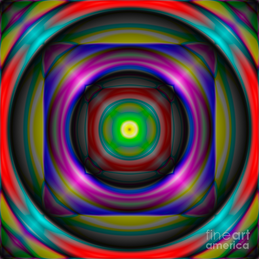 Abstract Digital Art - Abstract 705 by Rolf Bertram