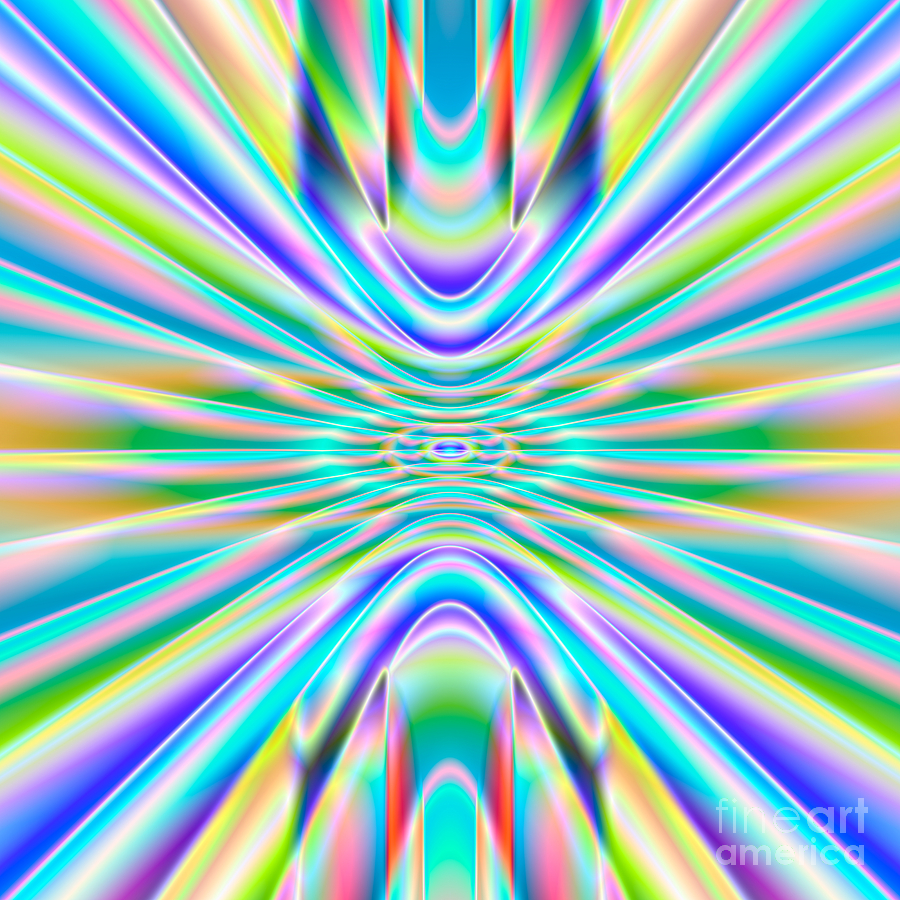 Abstract Digital Art - Abstract 718 by Rolf Bertram