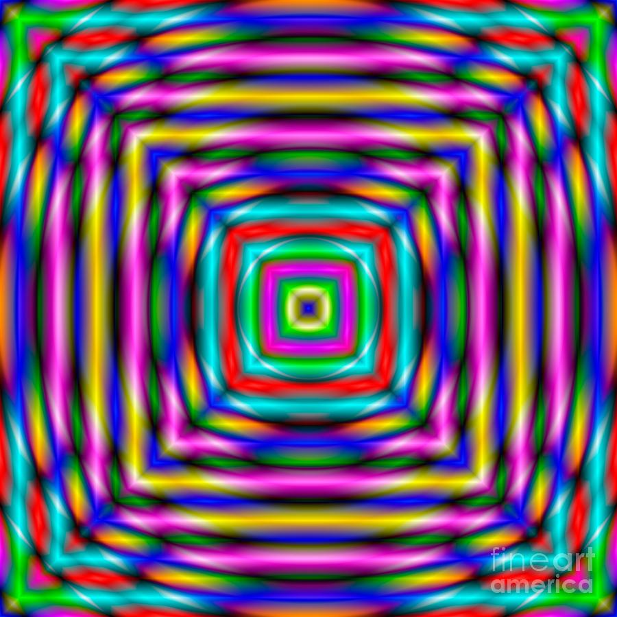 Abstract Digital Art - Abstract 727 by Rolf Bertram