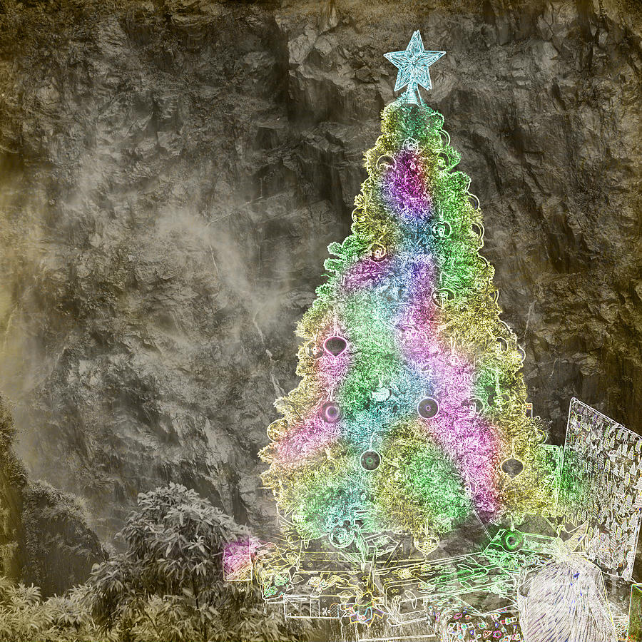 digital art christmas tree - photo #15