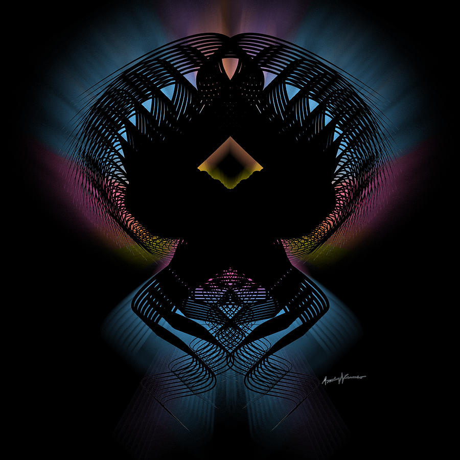 Abstract Digital Art - Abstract Design 5 by Anthony Caruso