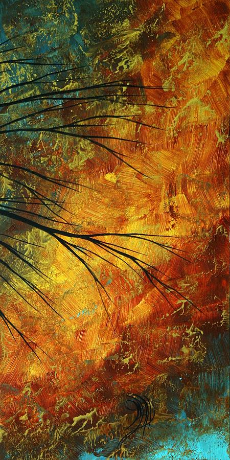 Abstract Painting - Abstract Landscape Art Passing Beauty 5 Of 5 by Megan Duncanson