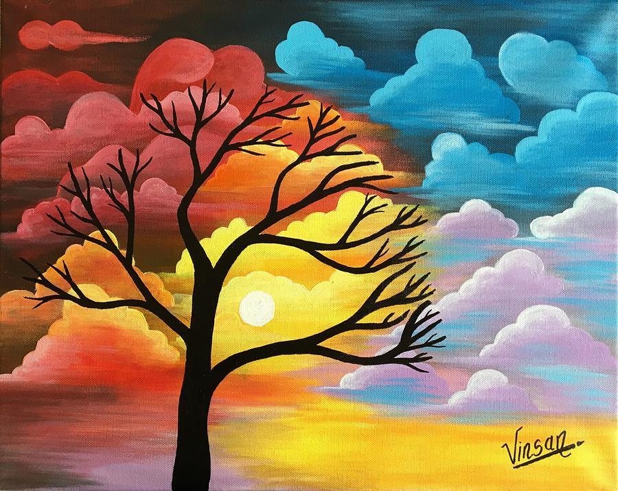 Simple Nature Oil Paintings