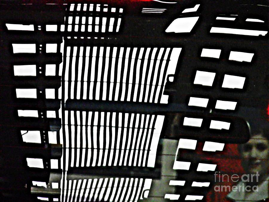 Abstract Photograph - Abstract Reflection 16 by Sarah Loft