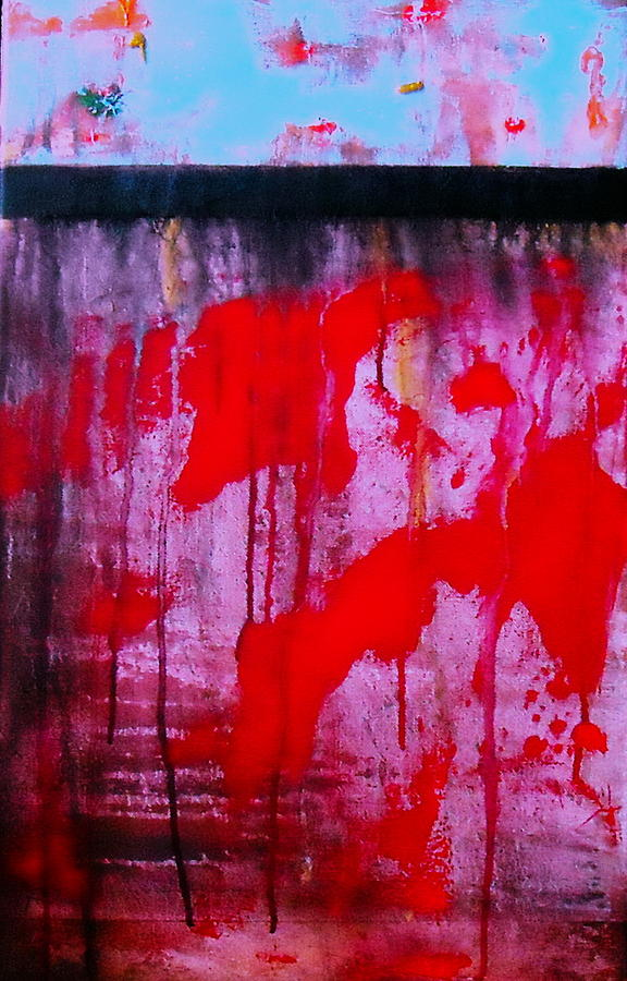 Abstract Zen 2 Painting by Pristine Cartera Turkus