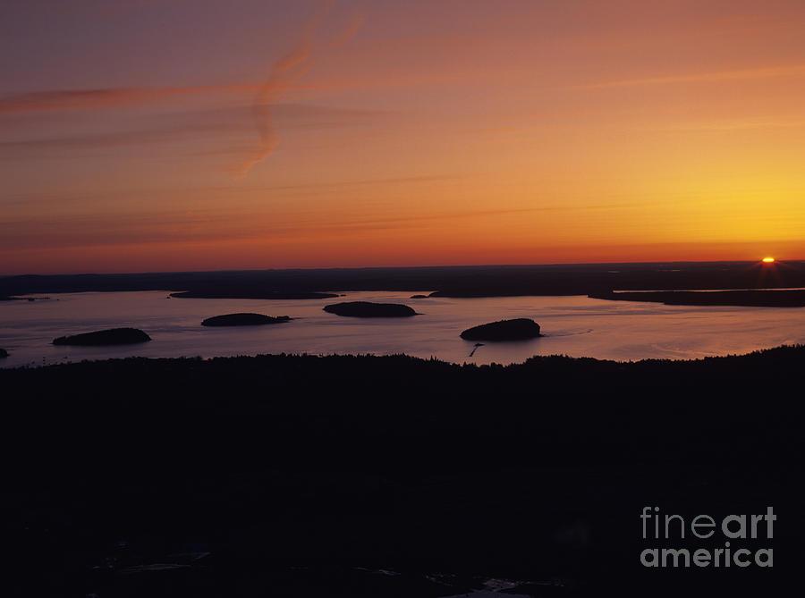 Acadia National Park - Maine Usa Photograph