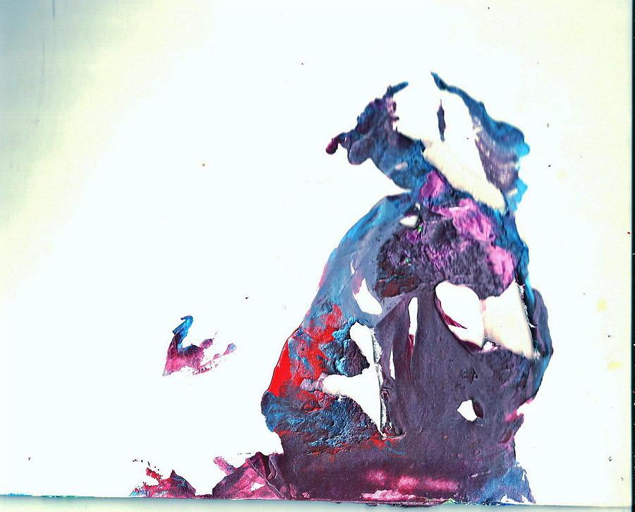 Clown Painting - Accidental Clown by Anne-Elizabeth Whiteway
