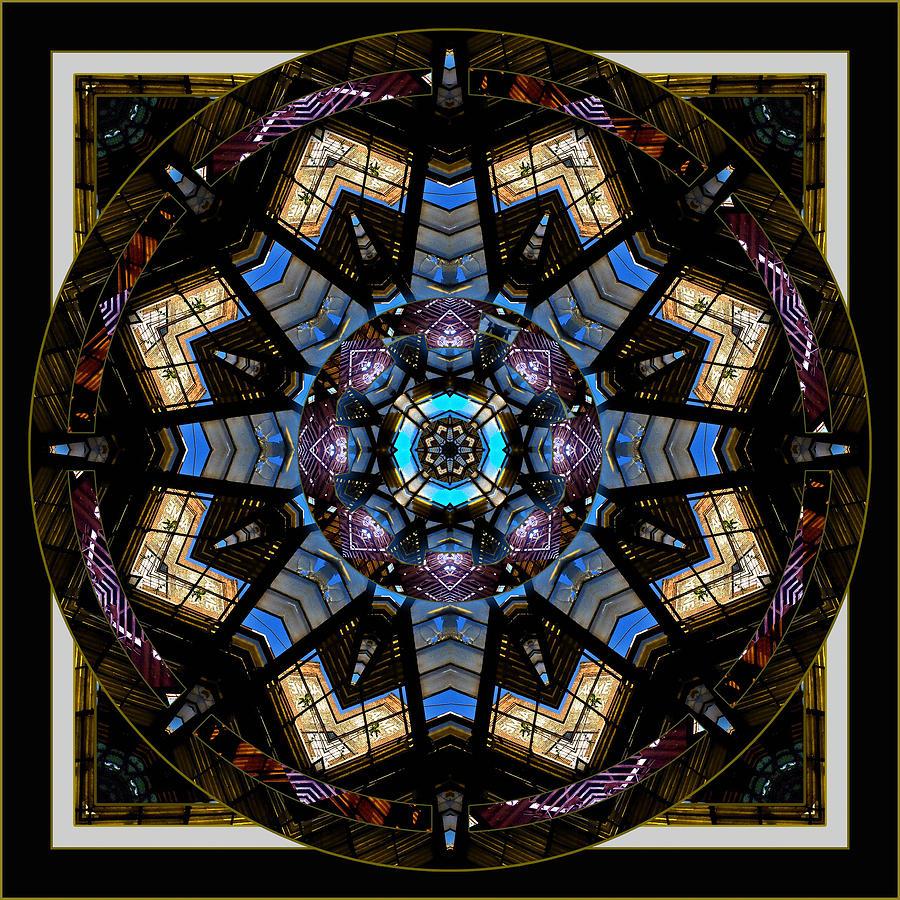 Mandala Photograph - Acme 2 by Willa Davis