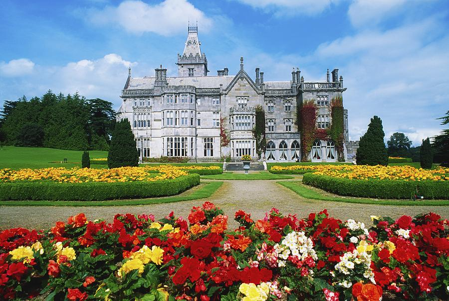Adare Manor Photograph - Adare Manor Golf Club, Co Limerick by The Irish Image Collection