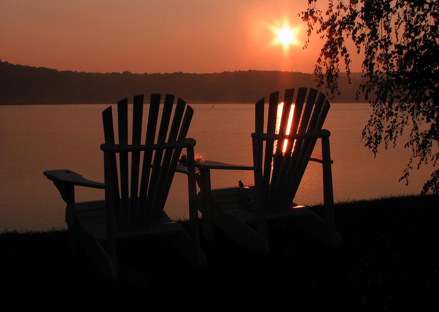 Adirondack Chairs-1 Photograph