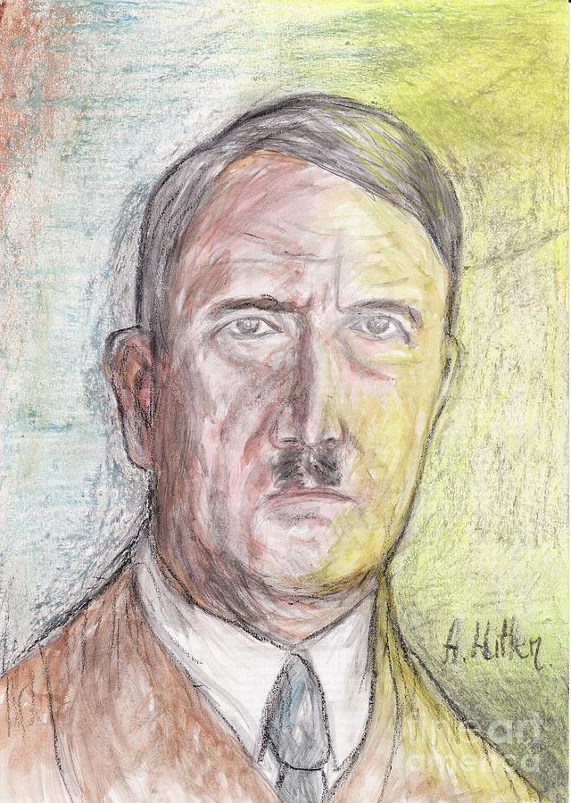 Adolf Hitler Painting By Northern Wolf