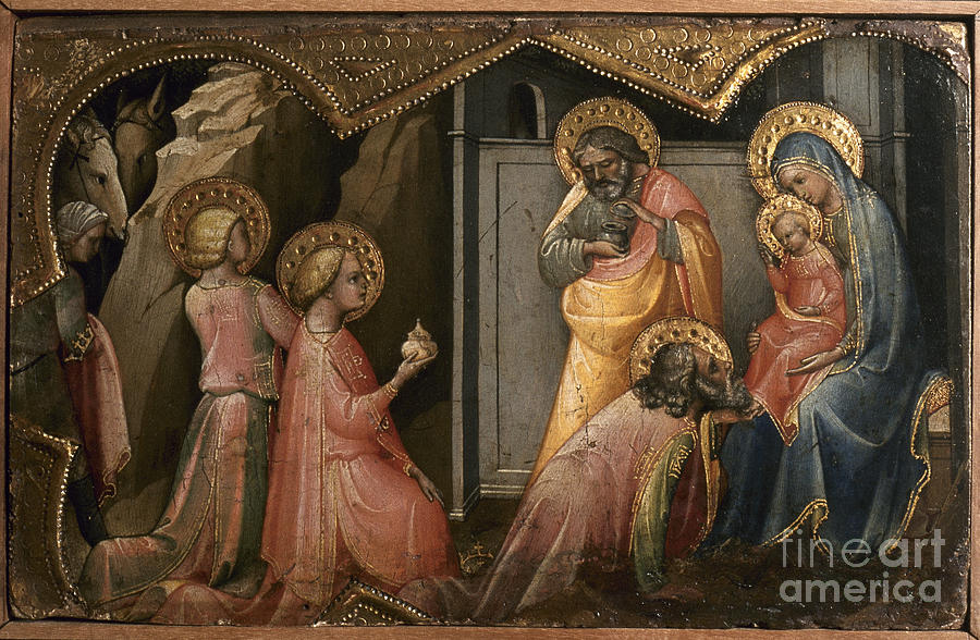 1405 Photograph - Adoration Of The Kings by Granger
