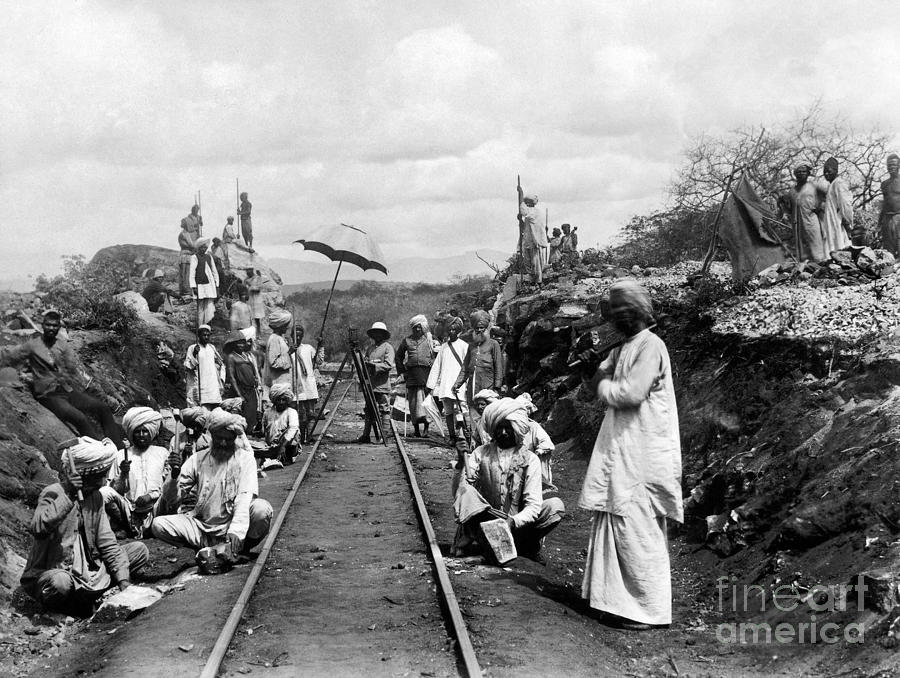 1900s Photograph - Africa: Railway, C1905 by Granger