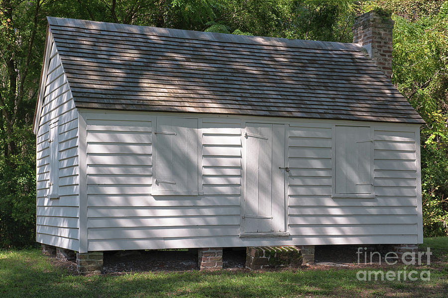 African American Slave Quarters At Mcleod Plantation Photograph