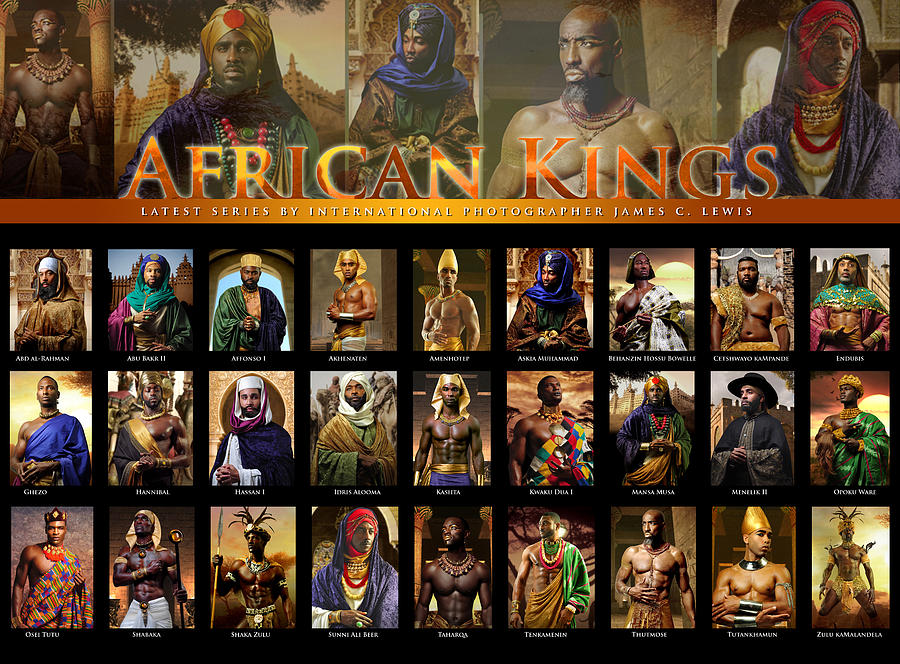 African Kings Poster Photograph By African Kings
