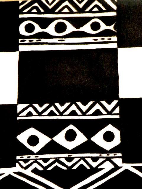 African Rhtymn Painting