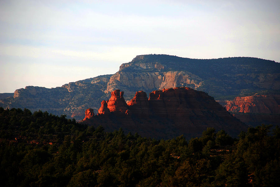 After Sunset In Sedona Photograph