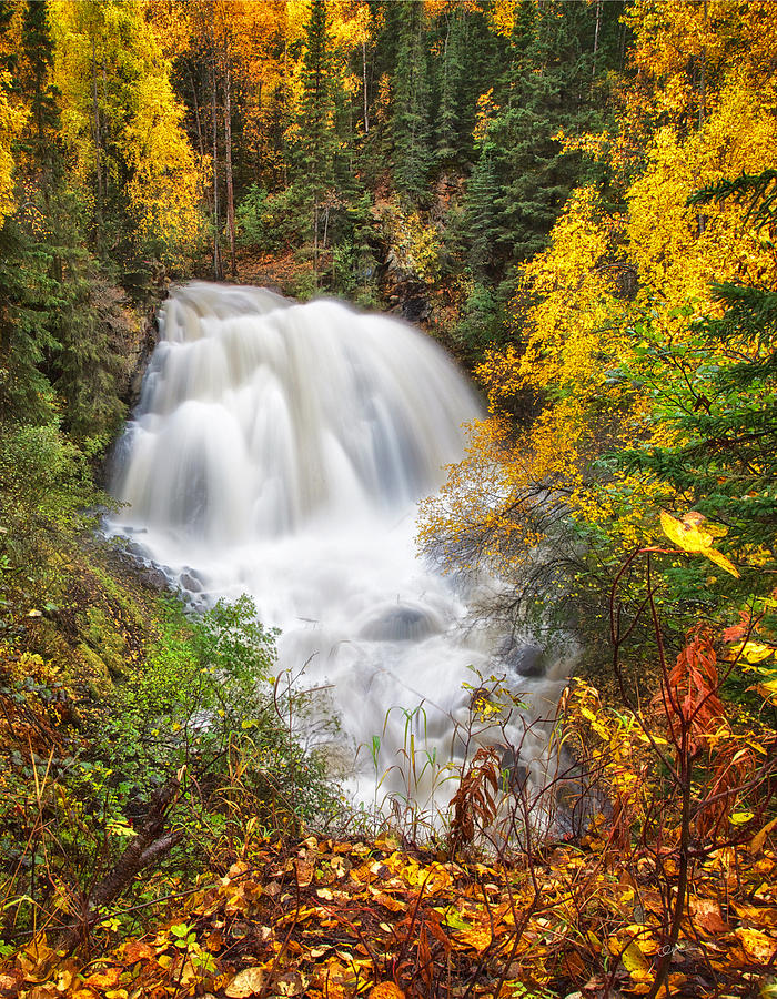 Fall Colors Photograph - After The Rain by Ed Boudreau
