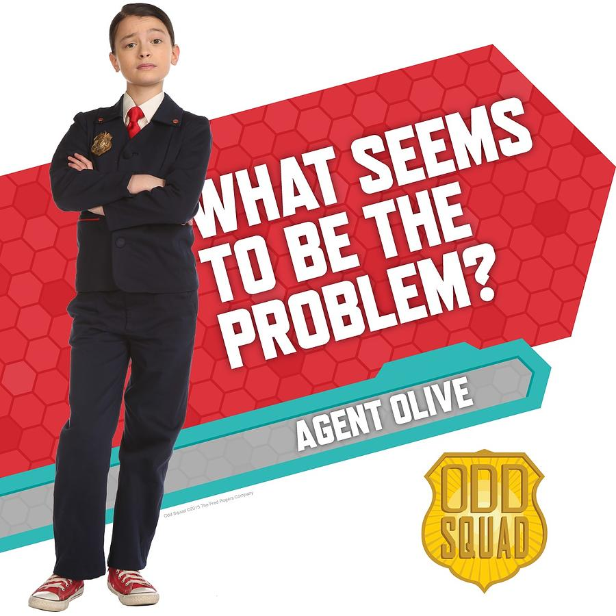 Pbs Kids Characters And Names Agent Olive Photograph...